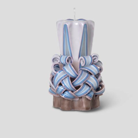 Bilde av  Hand-Carved Candles Dusty