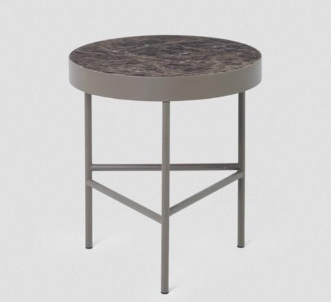 Bilde av Marble Table, Brown, Medium