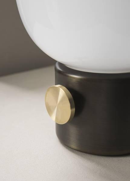 JWDA Bordlampe Bronze Brass