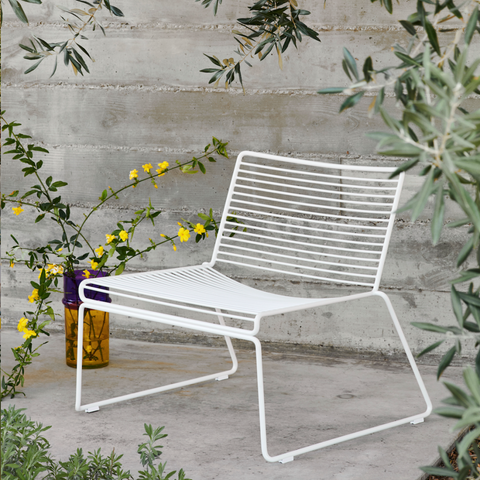 Bilde av Hee Lounge Chair HAY White