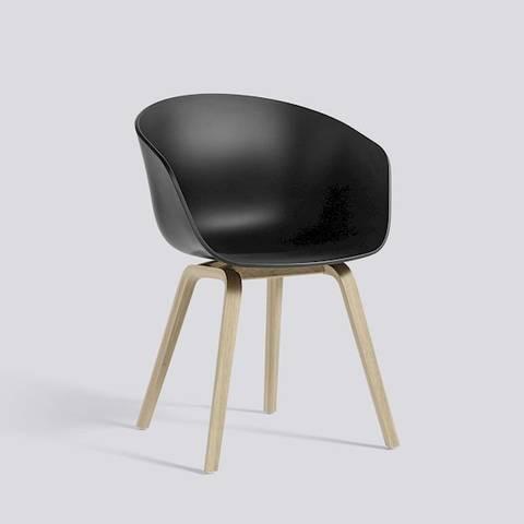 Bilde av AAC 22 Black stol HAY