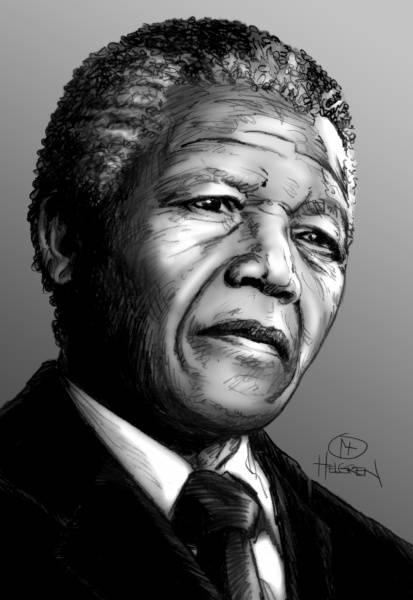 Mandela Nr. 5 Limited Edition 40 x 50