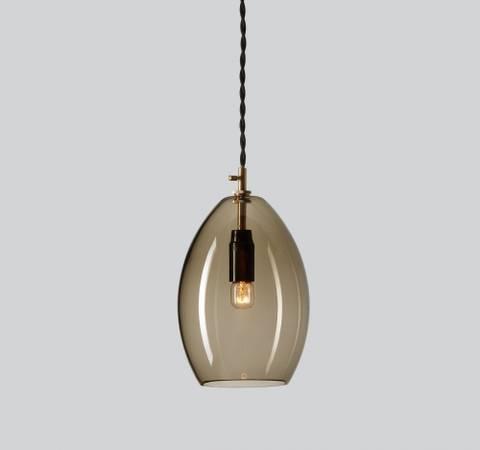 Bilde av Unika Taklampe Grå - Large