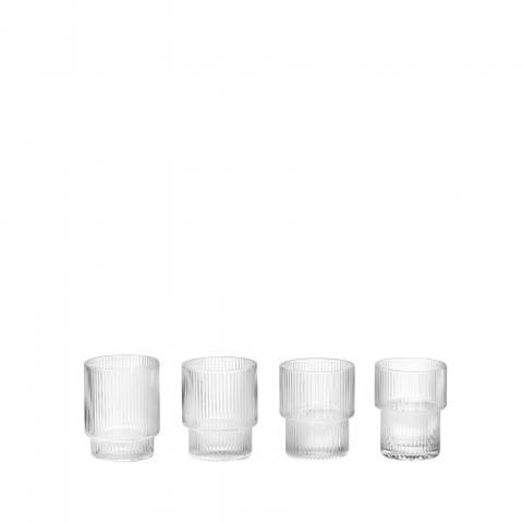 Bilde av Ripple small glass, 6 cl, 4