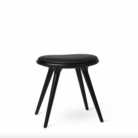 Bilde av Low Stool, Black stained ash