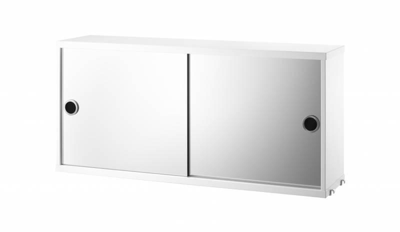 Speilskap med skyvedør 78 x 20 cm, String