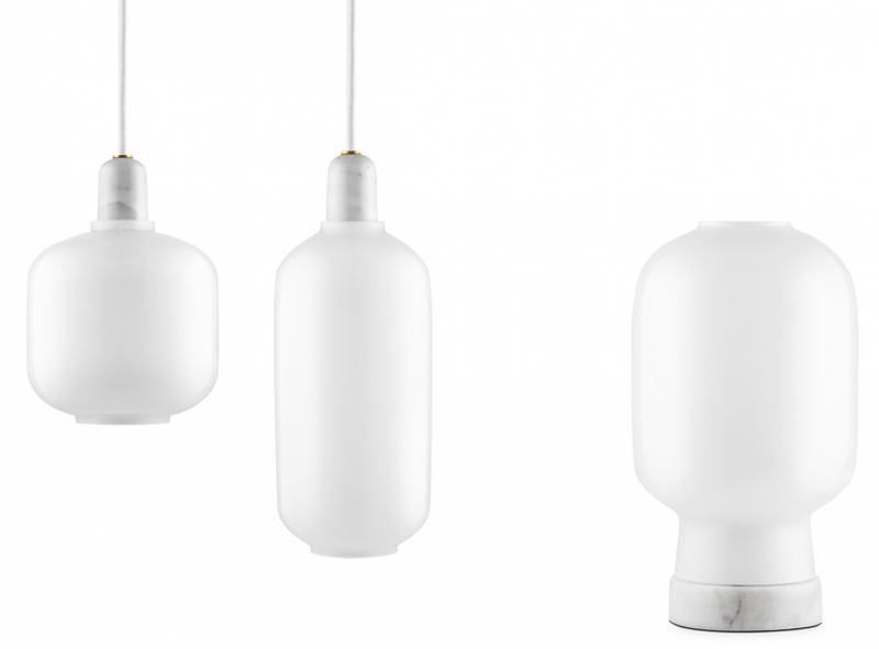 Amp Lamp White