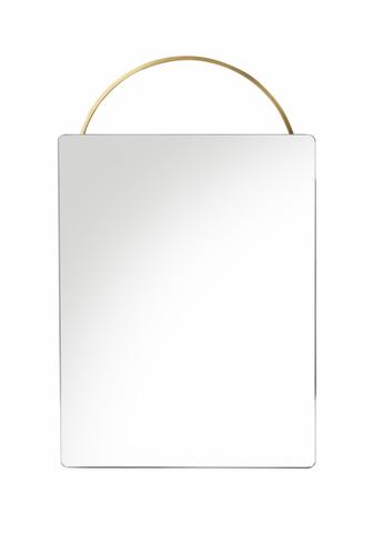 Bilde av Adorn speil - messing