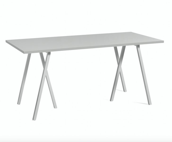 Loop Stand Table HAY Grey