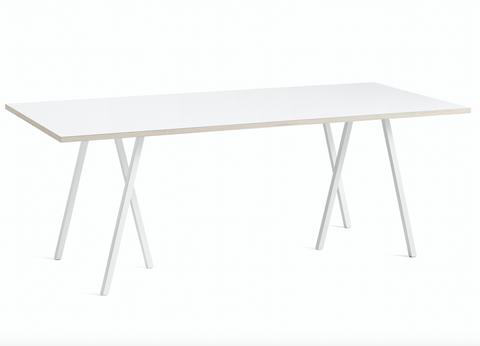 Bilde av Loop Stand Table HAY Hvit