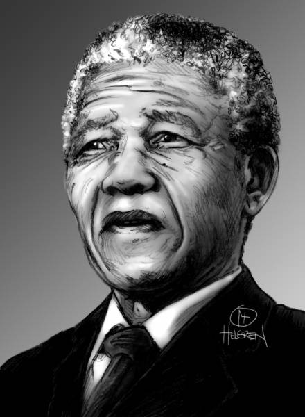 Mandela Nr. 6 Limited edition 40 x 50