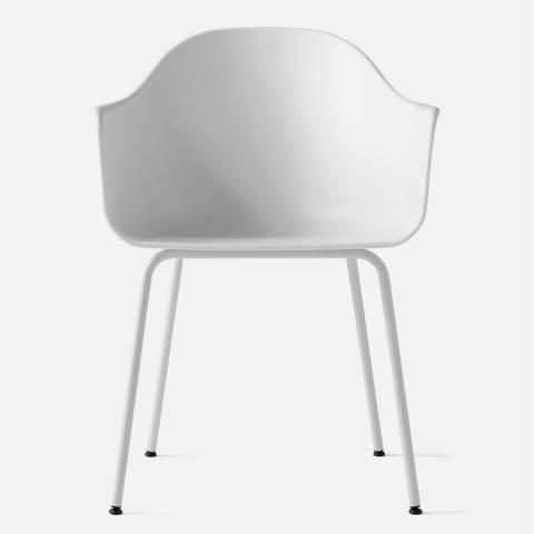 Bilde av Harbour Chair Steelbase White