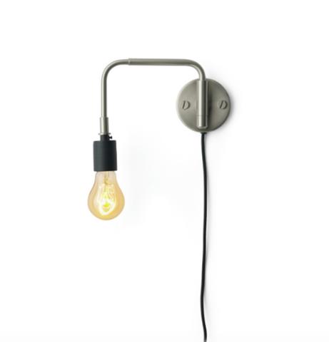 Bilde av Staple Vegglampe Børstet stål