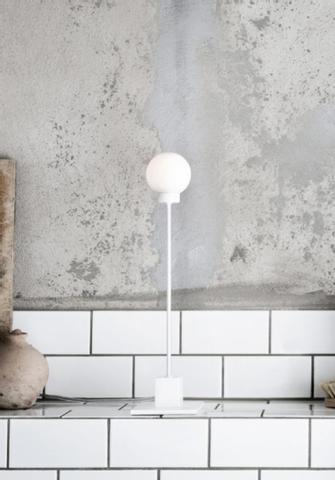 Bilde av Snowball Bordlampe White