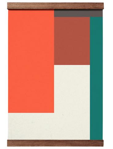 Bilde av  Poster Wrong Geometry 04