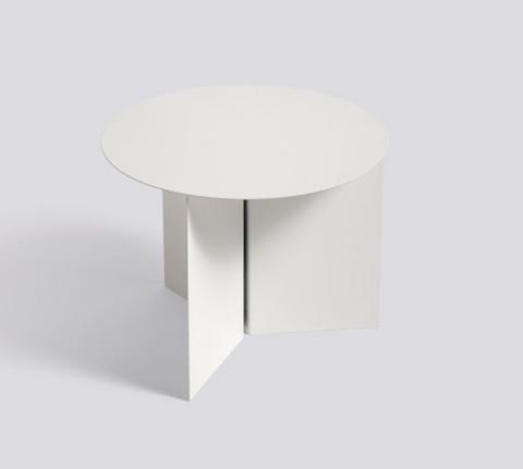 Bilde av Slit Table Round White HAY