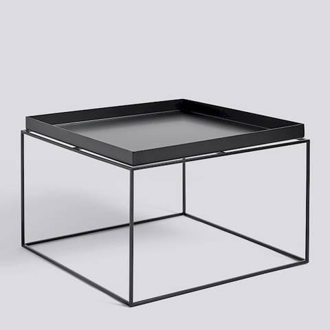 Bilde av Tray Table  60 x 60 Svart