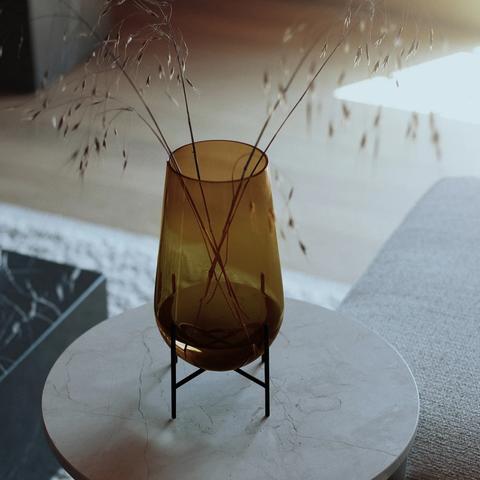 Bilde av Échasse Vase Small, Amber,