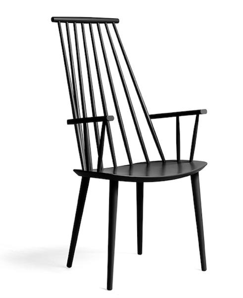 J110 Chair HAY Sort