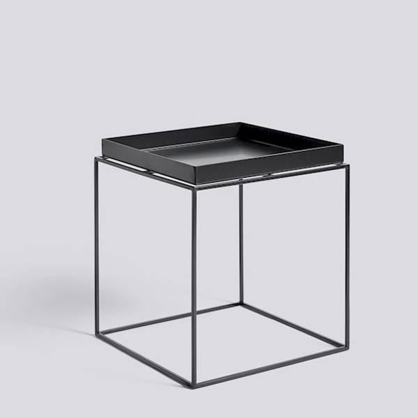 Tray Table 40 x 40 Svart