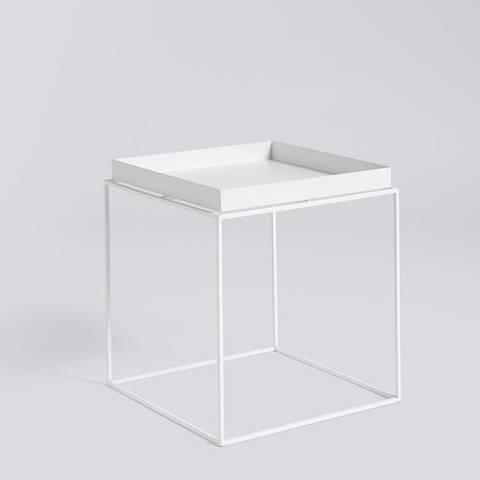 Bilde av Tray Table 40 x 40 Hvit