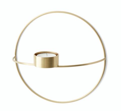 Bilde av  POV Circle telysholder Brass