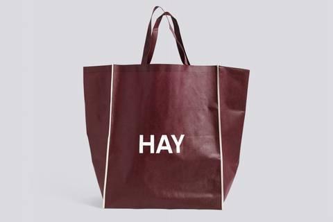 Bilde av Shopping bag burgunder