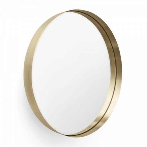 Speil Darkly Mirror Brass Menu