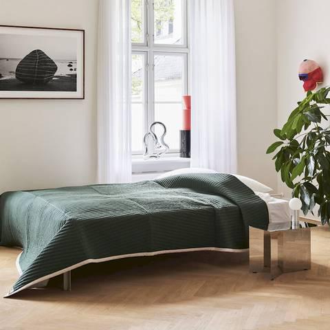 Bilde av Bias Bedspread Dark Green