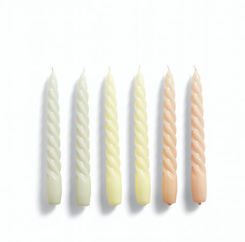 Bilde av HAY Candle Twist /Grey Beige