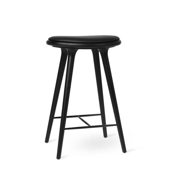 High Stool, Black stained oak