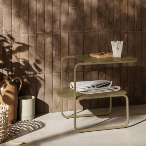 Bilde av Level Side Table Olive