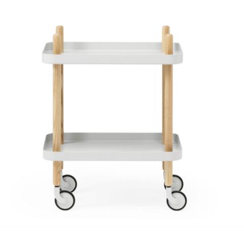 Bilde av Block trillebord Lysgrå