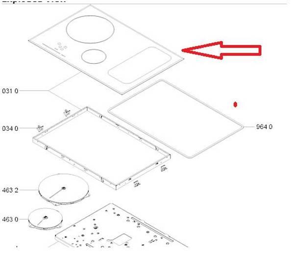 Bilde av C00439091 Hob assembly