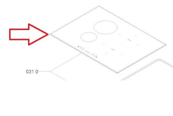 Bilde av C00440423 Hob assembly