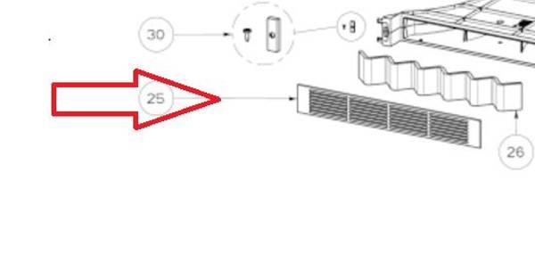 Bilde av C00630945 Frontal grid