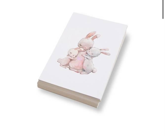 Bilde av  Tre kaniner sammen | 10x15 cm