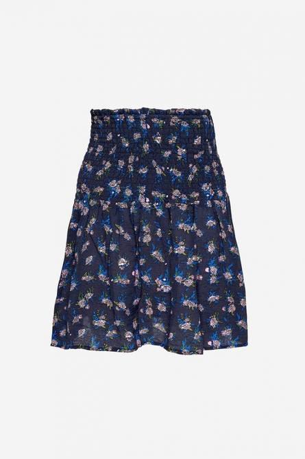 Bilde av Noella Blossom Skirt Viscose Navy/pink/blue