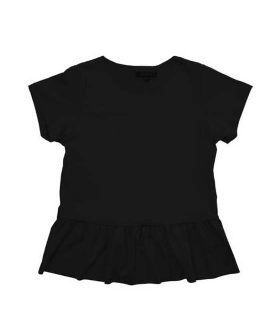 Bilde av Alma kids frill t-shirt Black