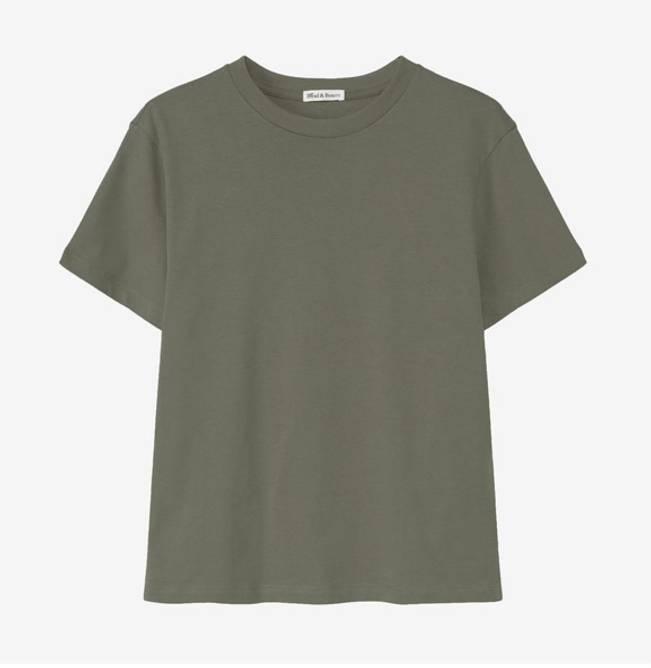 Bilde av T-shirt classic by Biderman oliven green