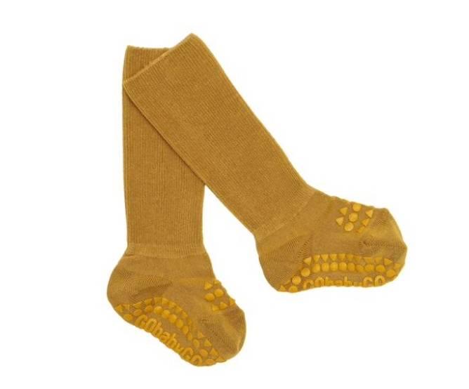 Bilde av Antiskli bambus sokker mustard