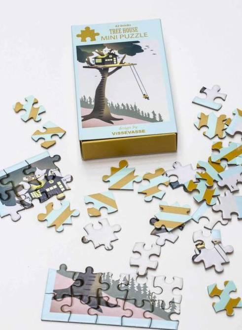 Bilde av Tree house mini puzzle