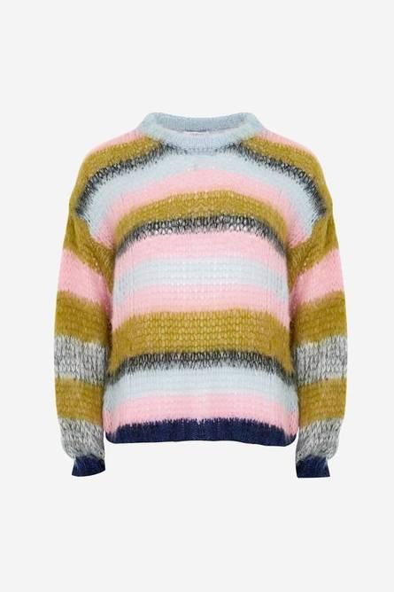 Bilde av Delta knit blue/rose