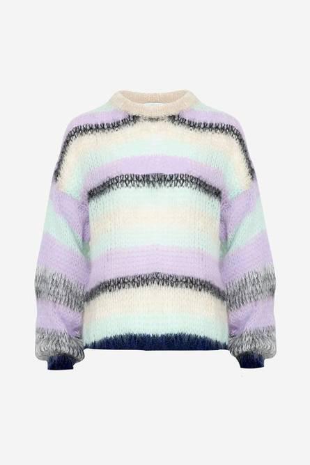 Bilde av Delta knit lavendel/mint