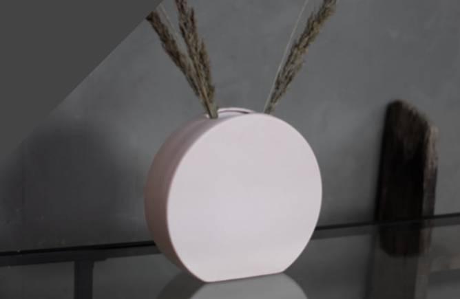 Bilde av Lund rose keramikk vase
