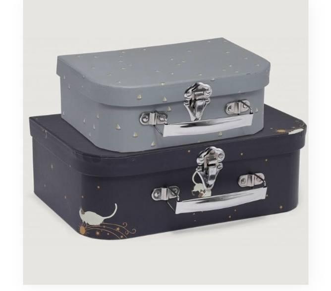Bilde av 2 pk koffert siamois/mille marin