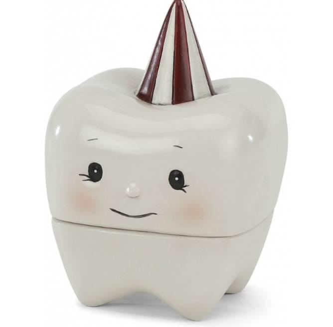 Bilde av Tooth box off white