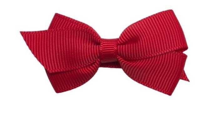 Bilde av viola 6 cm rød sløyfe