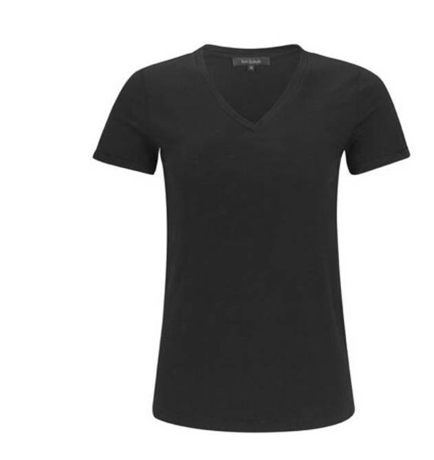 Bilde av Lily v-neck t-shirt black
