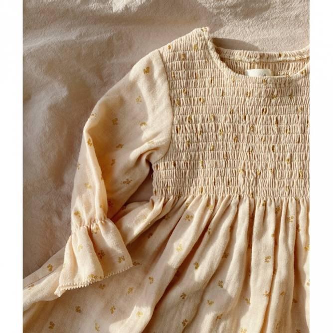 Bilde av ZALIE SLEEVE DRESS - MANDARIN